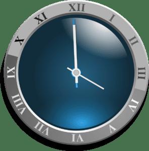 klockan på spanska