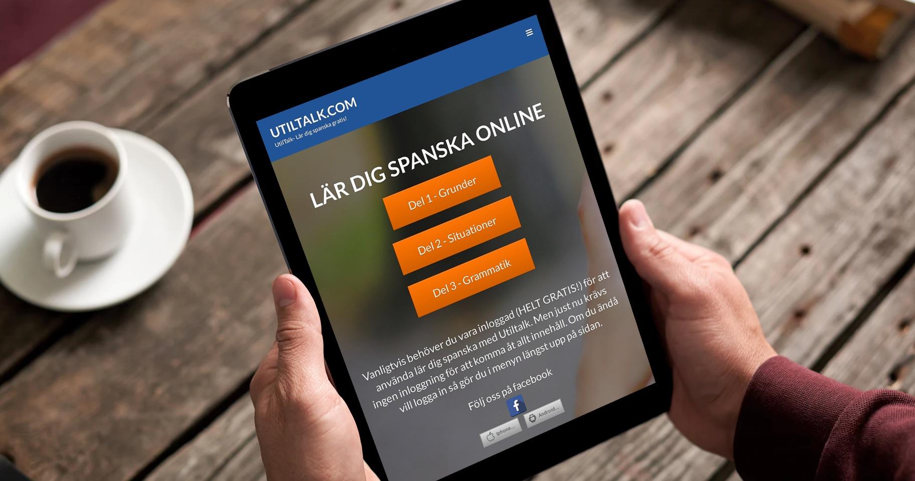 Lär dig spanska online gratis